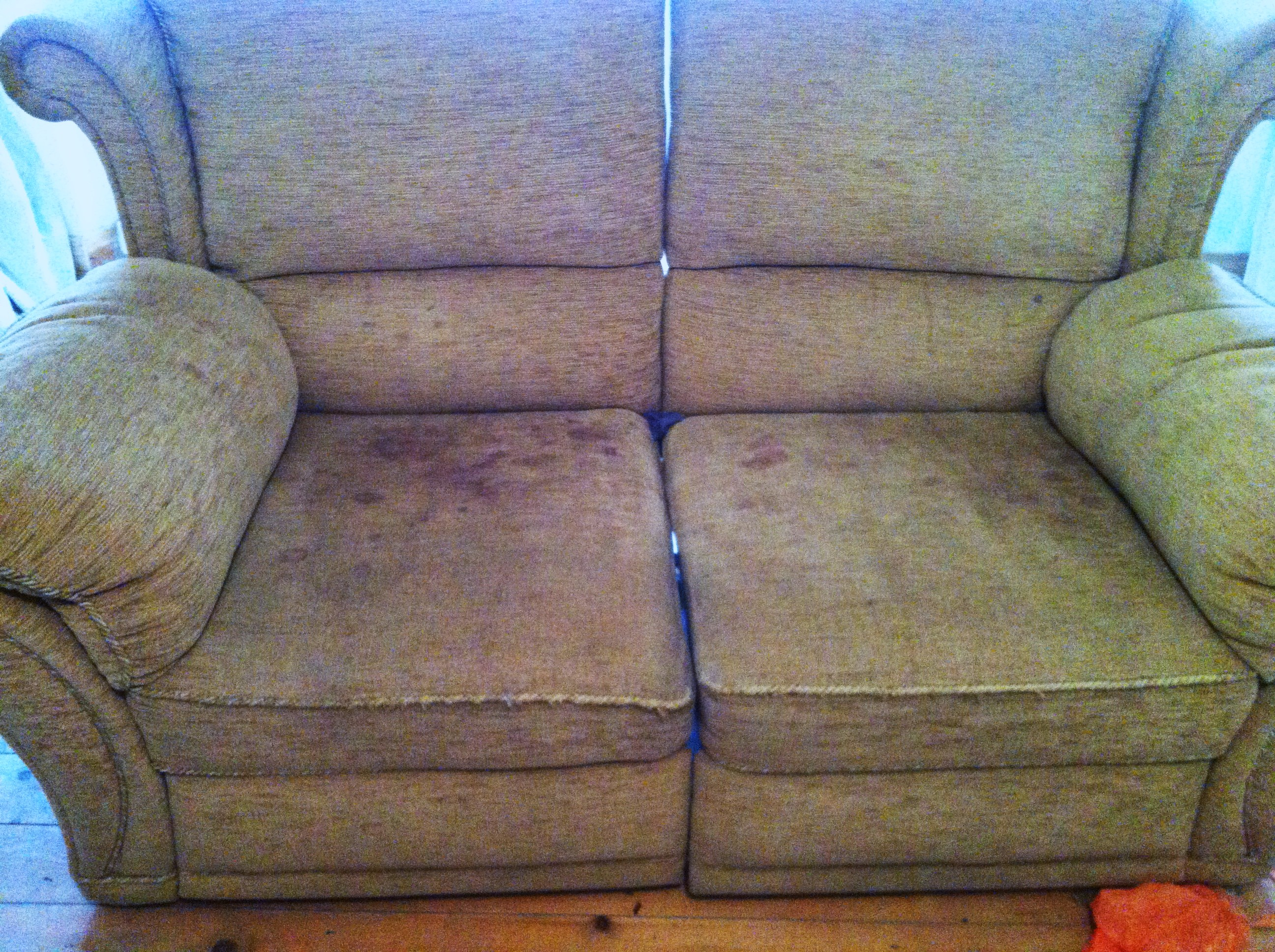 Blood. Blood Covered Sofa