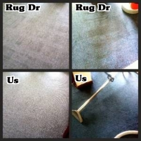Rapid re-soiling caused by Rug Dr